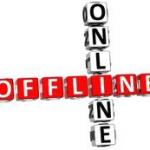 Įprasta  VS internetinę prekybą