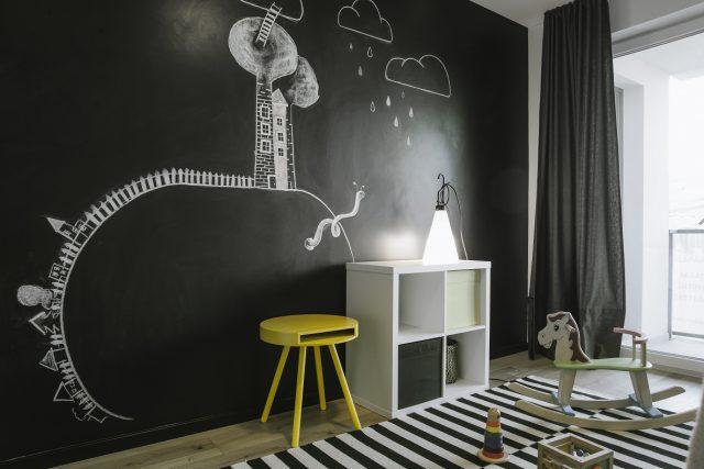 lubų dažymas